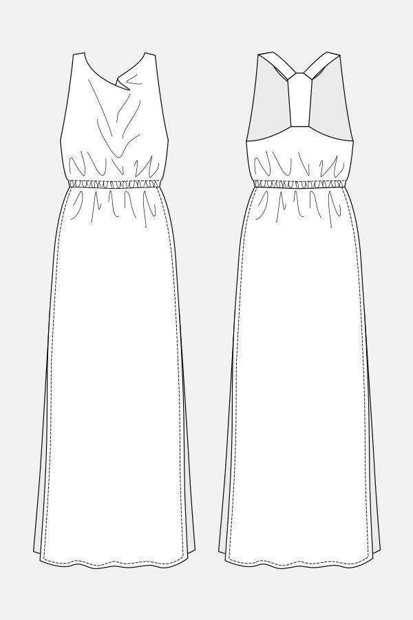 Free maxi dresses flats croqui