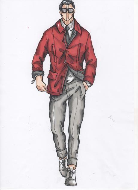 DAKS SKETCH | Fashion illustration | Fashion design ...