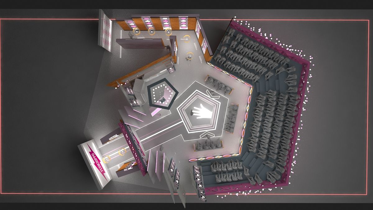 This Project Of Talk Show Revizorro Show Created For Russian Tv Channel Set Design Design Projects