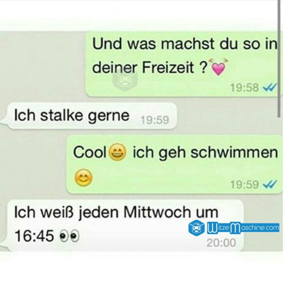 Lustige WhatsApp Bilder und Chat Fails 52   Stalker | Funny or