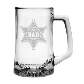 Dad Star Badge Sport Mug
