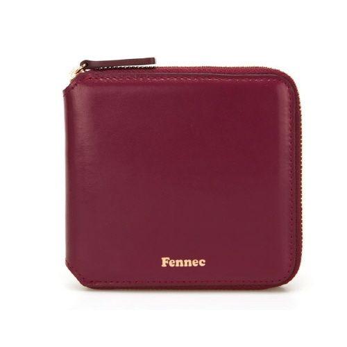 c8e1ec5116c0 Fennec 페넥  Fennec  Fennec Zipper Wallet 019 Marsala