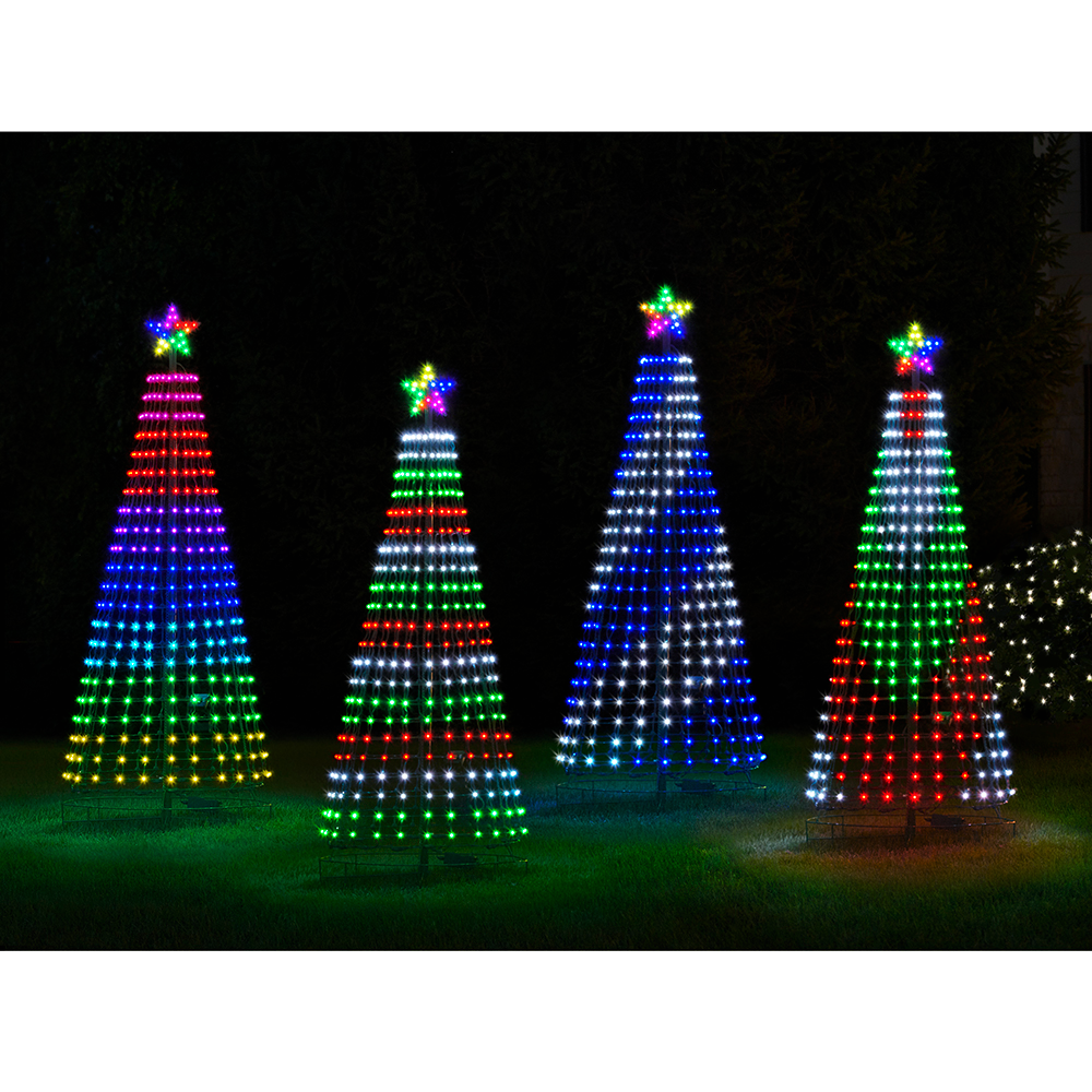 This Is The Illuminated Tree That Plays Christmas Songs While Its