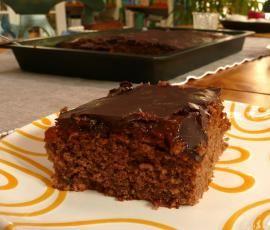 Schoko Zucchini Blechkuchen Rezept Schokoladen Zucchini Kuchen Blechkuchen Thermomix Rezepte Kuchen