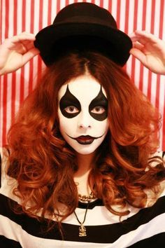 mime makeup - Google Search | The Unwanted Guests | Pinterest ...