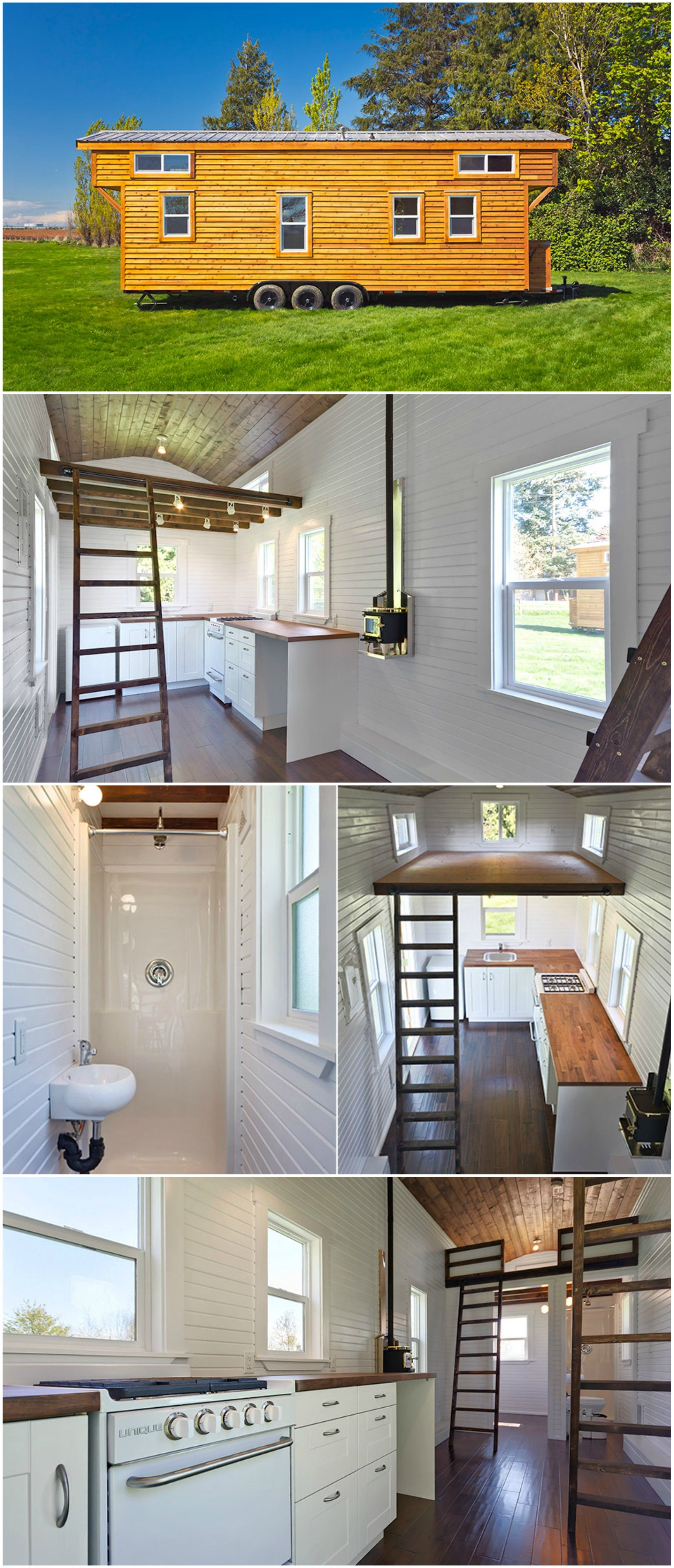 Loft Edition By Mint Tiny Homes   Tiny Houses On Wheels For Sale