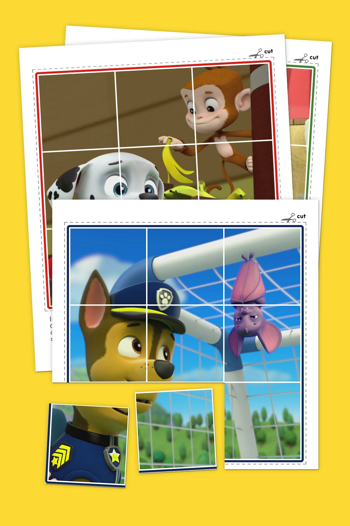 Animals Of Paw Patrol Puzzle Pack Crafts For The Girls