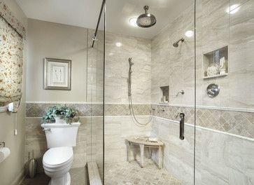 Cream 4 X 4 Stone Mosaic Tile Bathroom Wall Tile Design