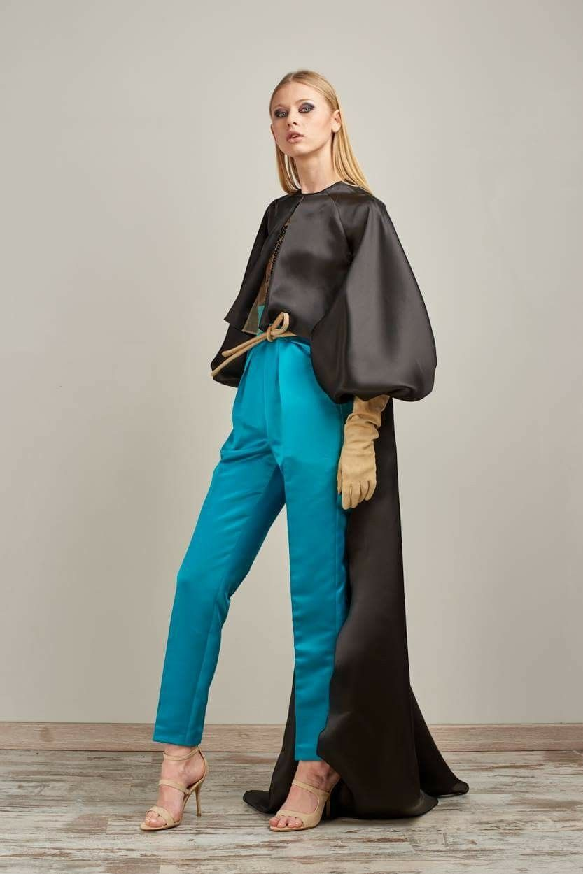 RAFAEL URQUIZAR COUTURE 2018 COLLECTION LOOK 2 #style #lunares ...