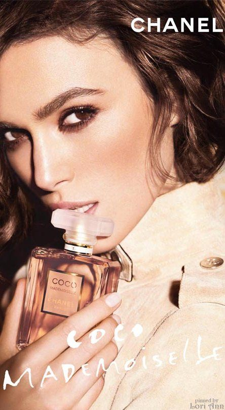 A little goes a long way! Keira Knightley for Chanel ...