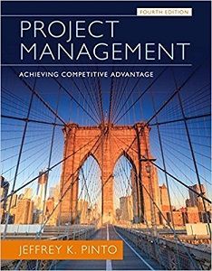 project management achieving competitive advantage 4th edition pinto