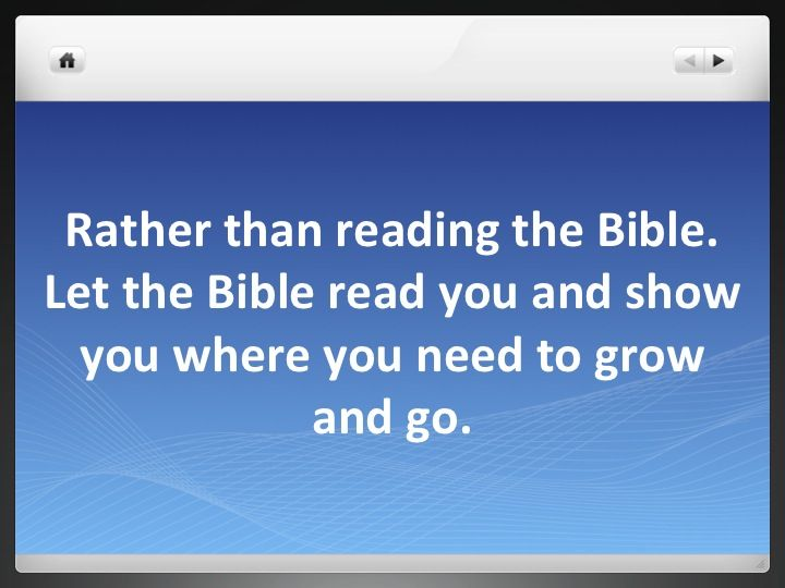 5 Ms of Bible Study