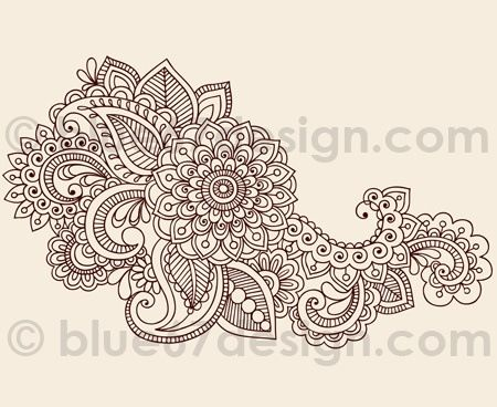 paisley design that can be used as a henna design mehndi me rh pinterest com paisley tattoo design Paisley Tattoo Designs Women