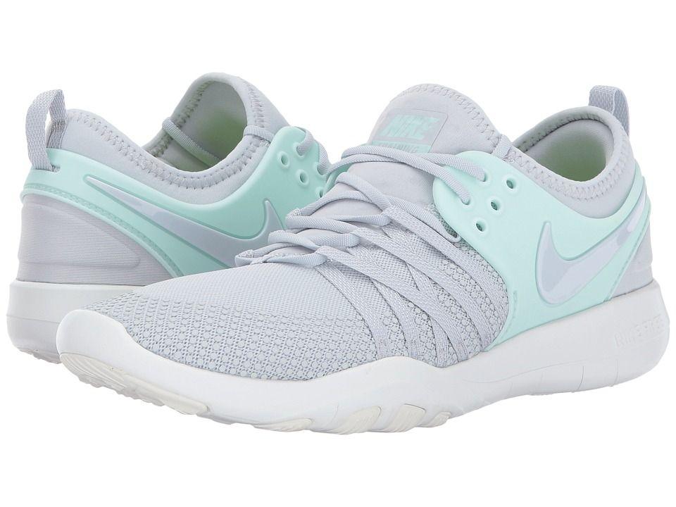 155c2af900c Nike Free TR 7 Women's Cross Training Shoes Pur Platinum/Pure  Platinum/Igloo White