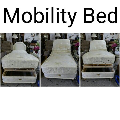 Single Mobility Bed GC ------------------------------------------------ Was £165 Now £132 (PC295)