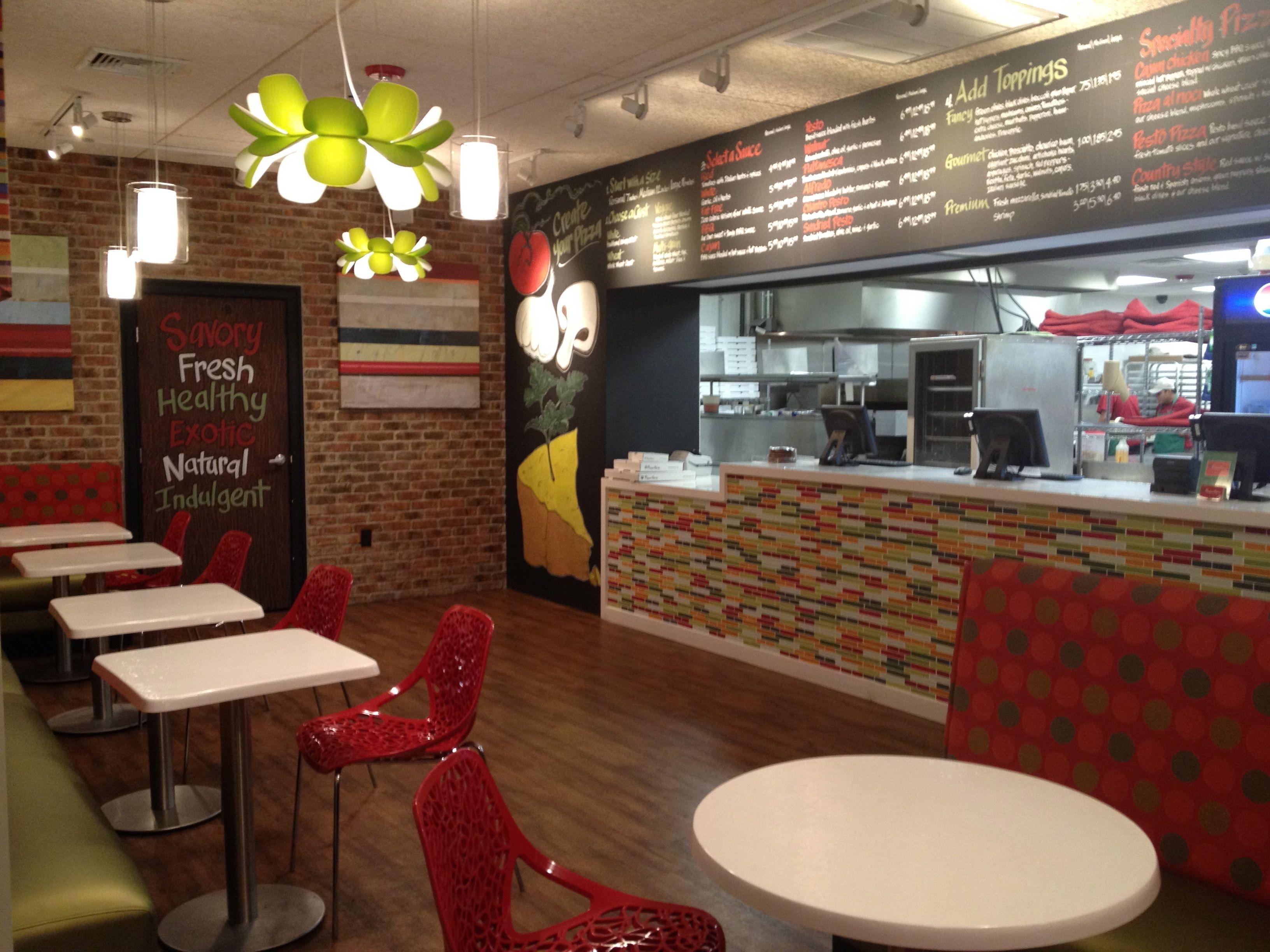 Boston Pizza Kitchen | Pizza Pie Er Inman Square Cambridge Caroll Design Studio