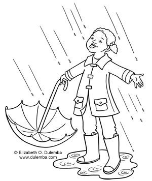 Singing In The Rain Coloring Sheets Google Search Coloring