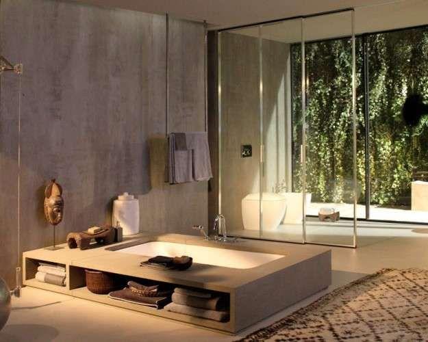 Bagno Legno Naturale : Arredi bagno legno naturale nel arredamento arredamento