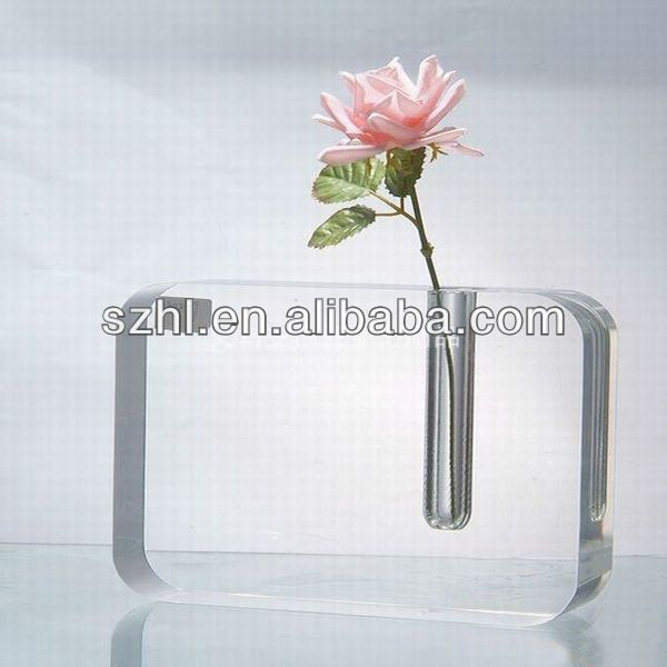 Wholesale Clear Acrylic Vase With Photo Frame Find Complete