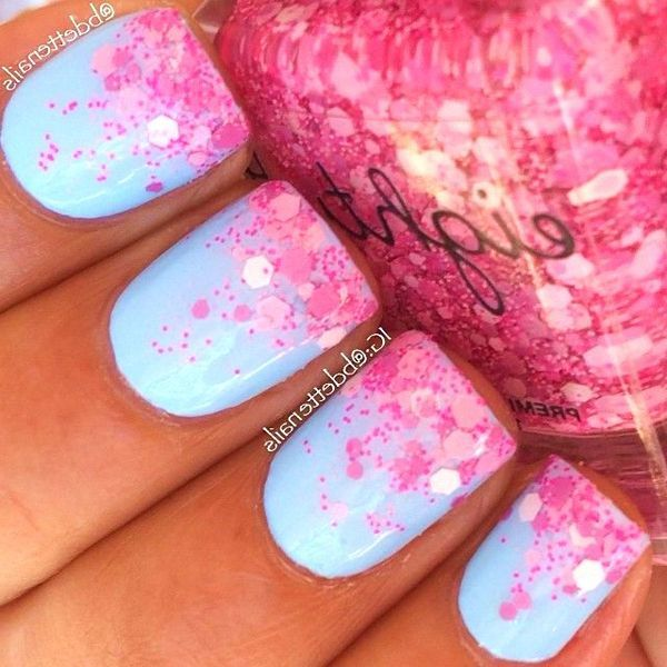 34 Cute Nail Designs For A Colorful Spring #nails #ideas #spring ...