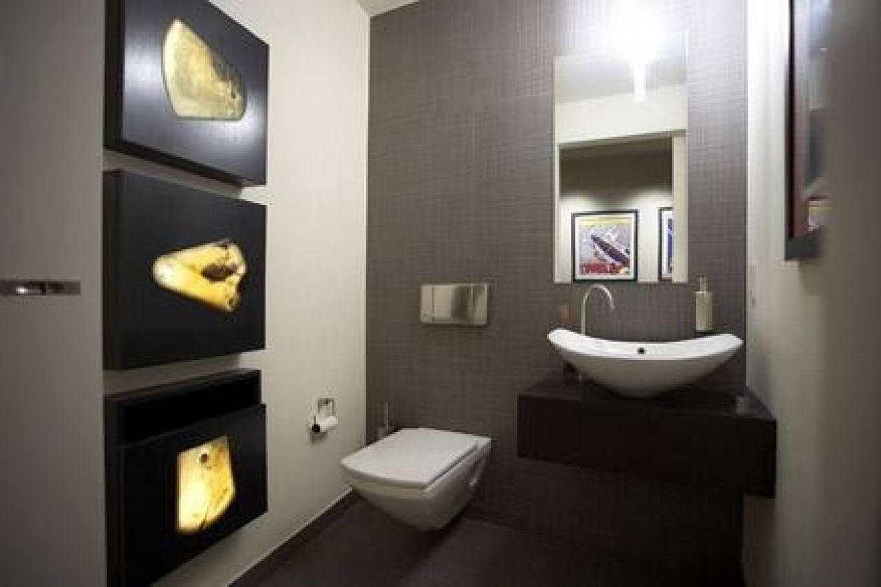 Narofsky architecture modern powder room new york also pin by josh ames on house pinterest ideas and rh za