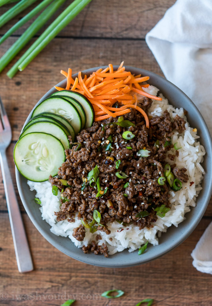 Easy Korean Ground Beef Recipe Recipe Ground Beef Recipes For Dinner Quick Ground Beef Recipes Ground Beef Recipes Easy