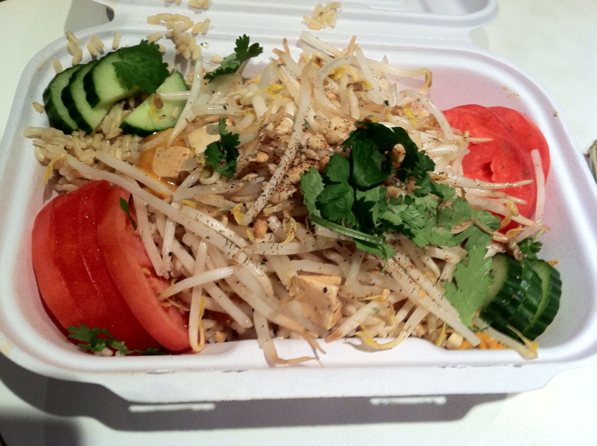 More Yummy Vegan Gluten Free Food From Fresh In Toronto Canada Their Buddha Bowl Which Includes Thai Peanut Sauce W Vegan Gluten Free Food Gluten Free Recipes