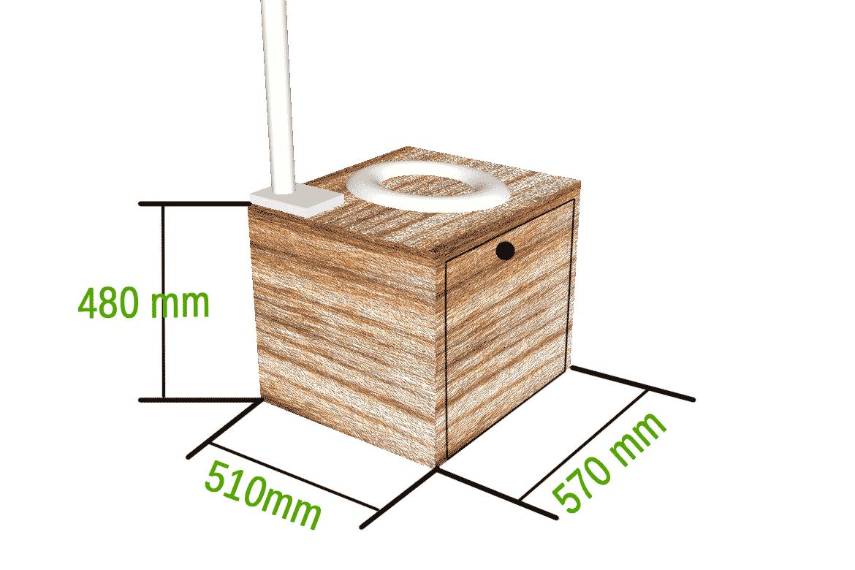 trockentoilette im wohnmobil campingklo ohne chemie projekt new camping klo toiletten und. Black Bedroom Furniture Sets. Home Design Ideas