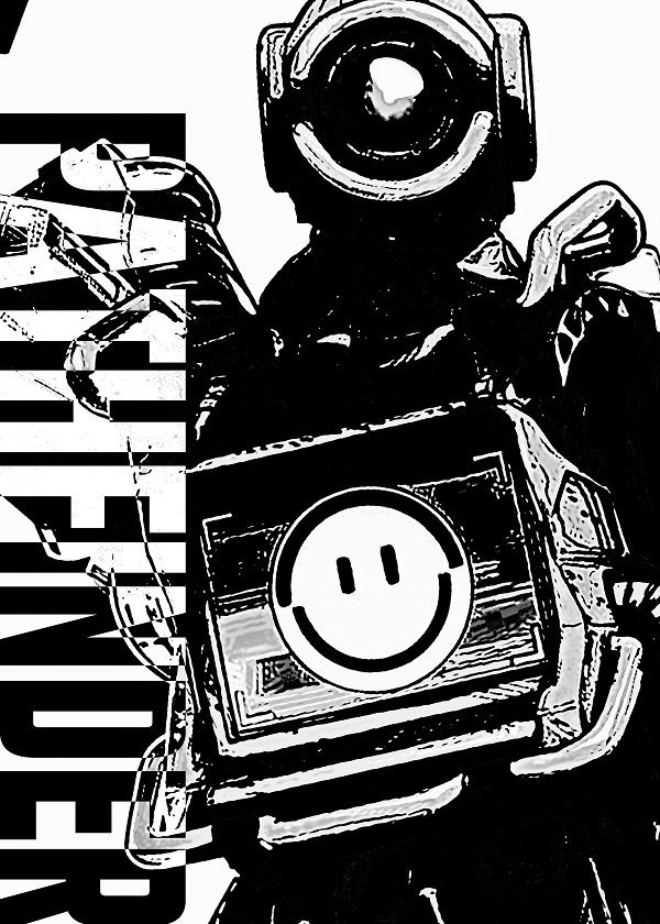 Apex Legends B&W Sketch Characters Displate Posters