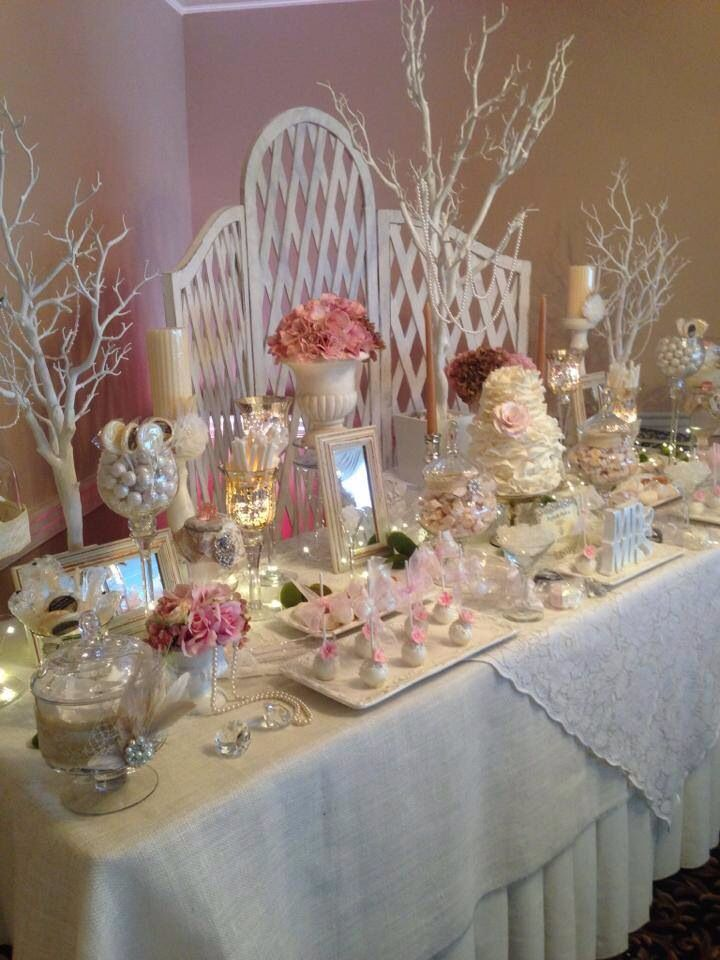 Shabby chic in shades of pink For info perfectlyposhct@hotmail.com