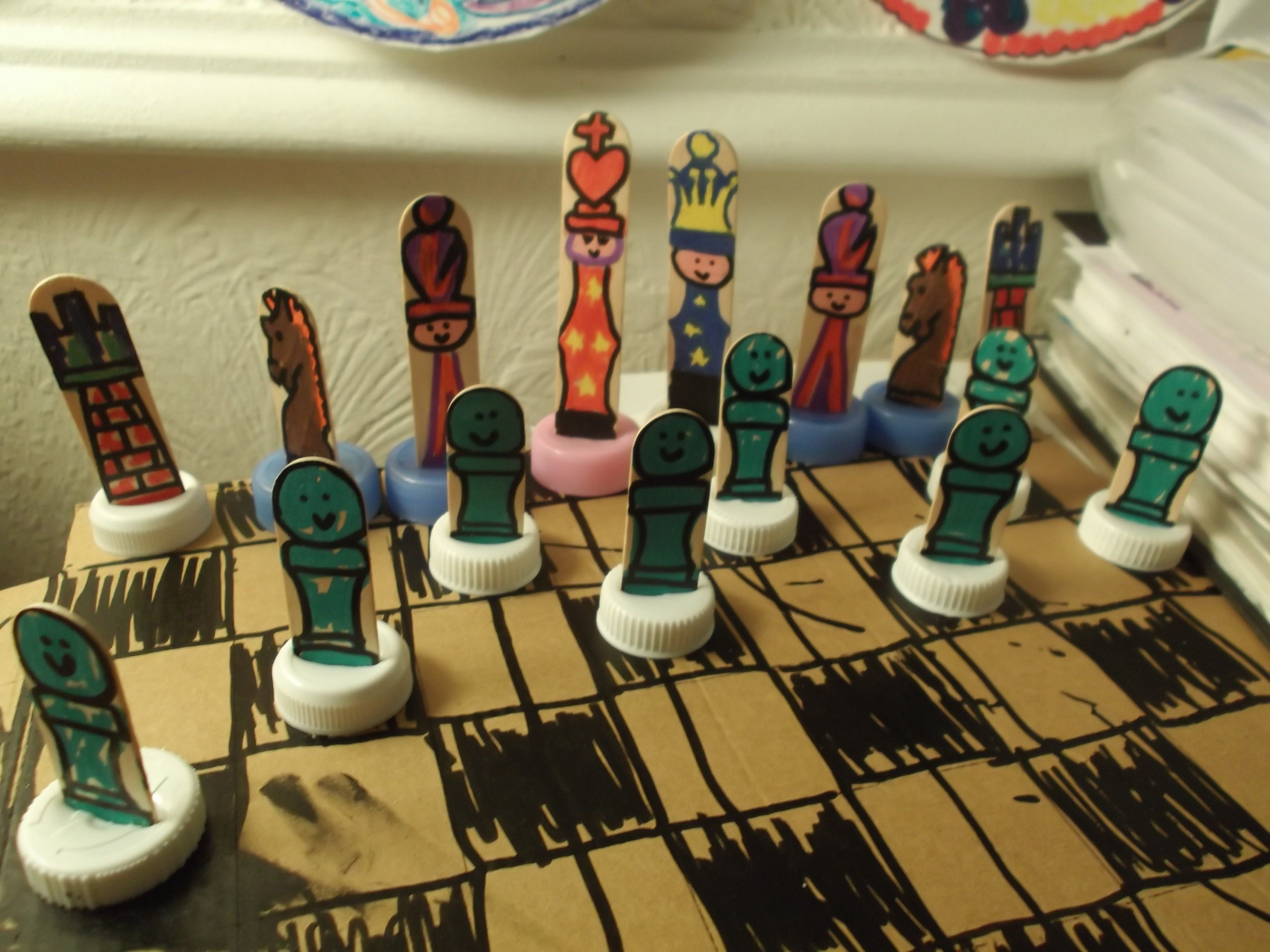 Week Chess Chess Set Part 1 Diy Chess Set Chess Set Chess