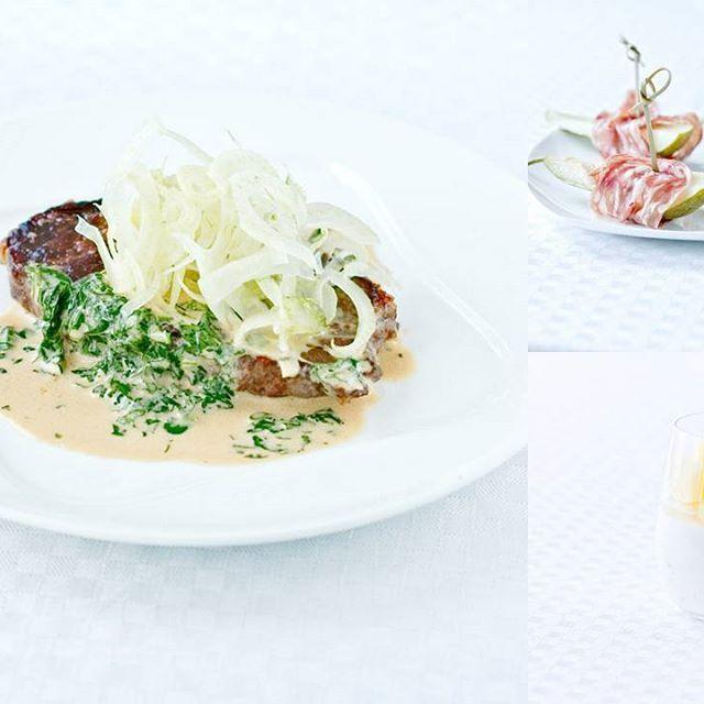 Viikonlopun herkutteluhetkiin tarjoamme uuden kolmen ruokalajin menun. Alkuun makean päärynän ympärille käärittyä kylmäsavustettua possua, pääruuaksi kotimaista naudan ulkofileetä fenkoli lisäkkeellä ja aterian kruunaa limetillä maustettu kookospannacotta ananaksen kera. #viikonloppu #Komero #herkuttelu #suomalainen #laatuliha #kahdestaan