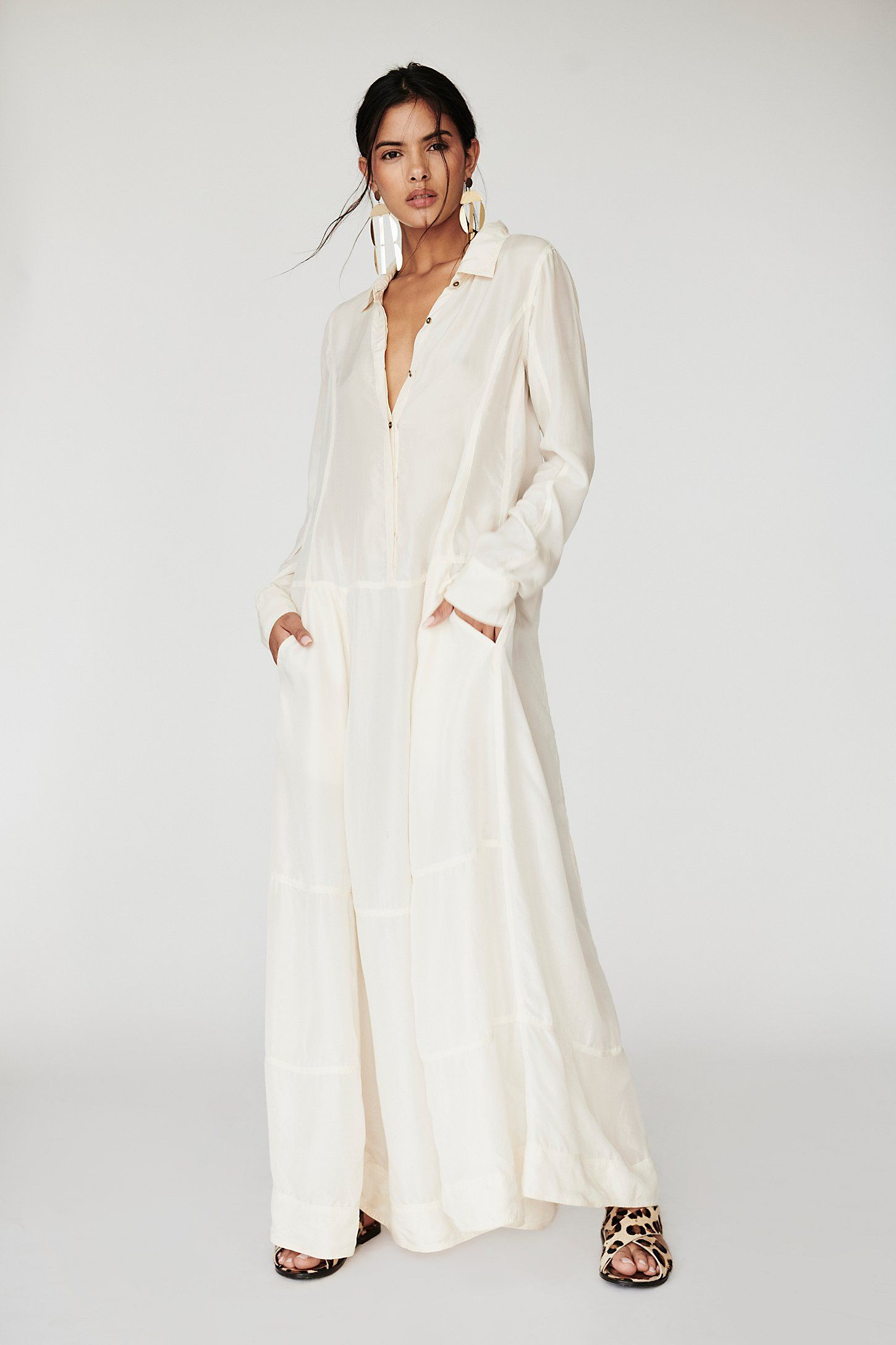 Shop our Orion Silk Maxi Dress at FreePeople.com. Share style pics with FP  Me 92dcf126c