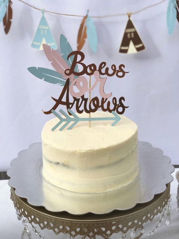 Humorous Gender Reveal Party Ideas Gender Reveal Cupcakes