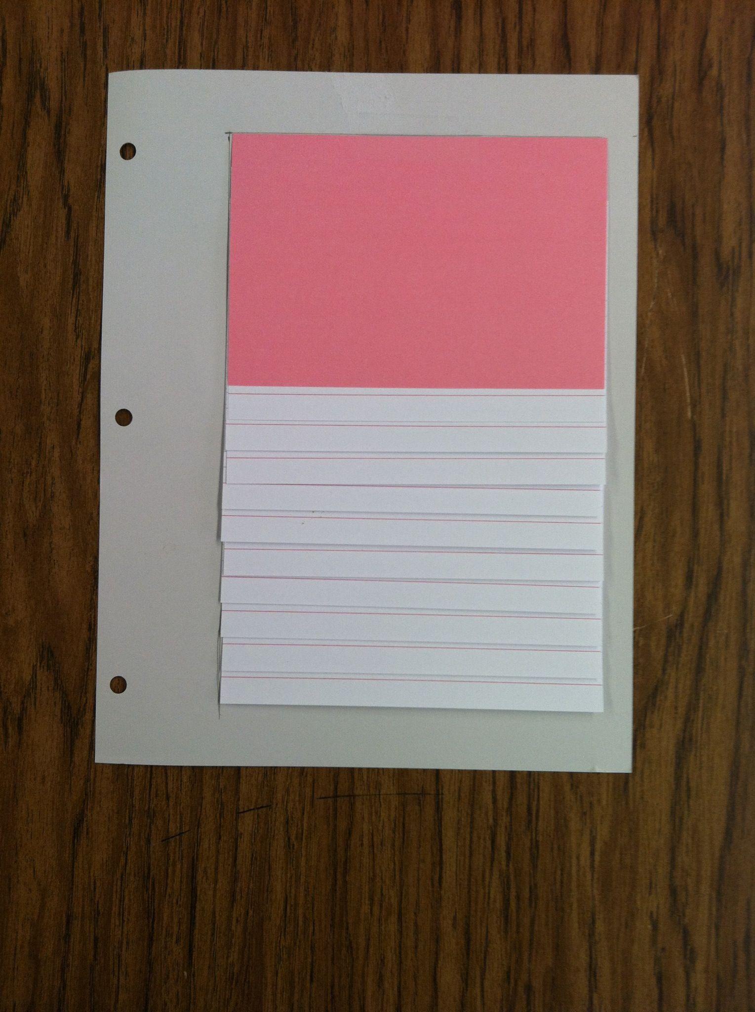 How To Make A Flip Chart Recipe Flip Chart How To Make Chart