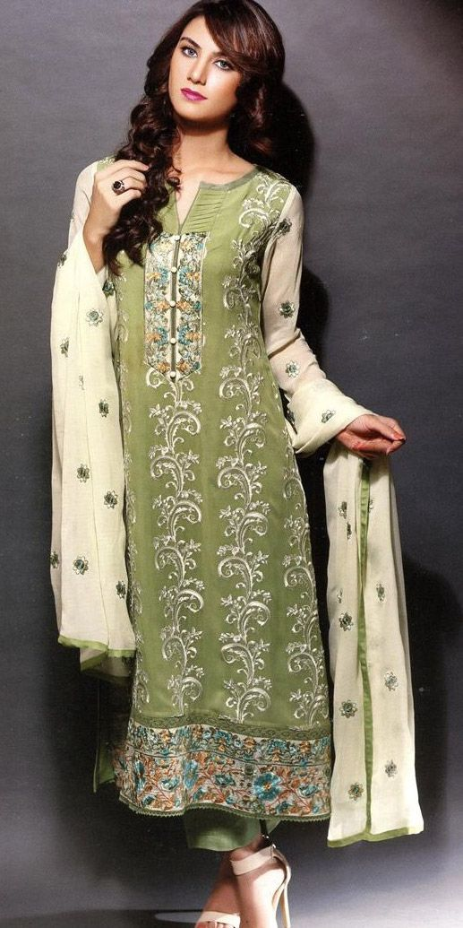 Light Pink Color 3 Piece Khadi Embroidered Pret Wear Available Online For  Free Online Shopping By