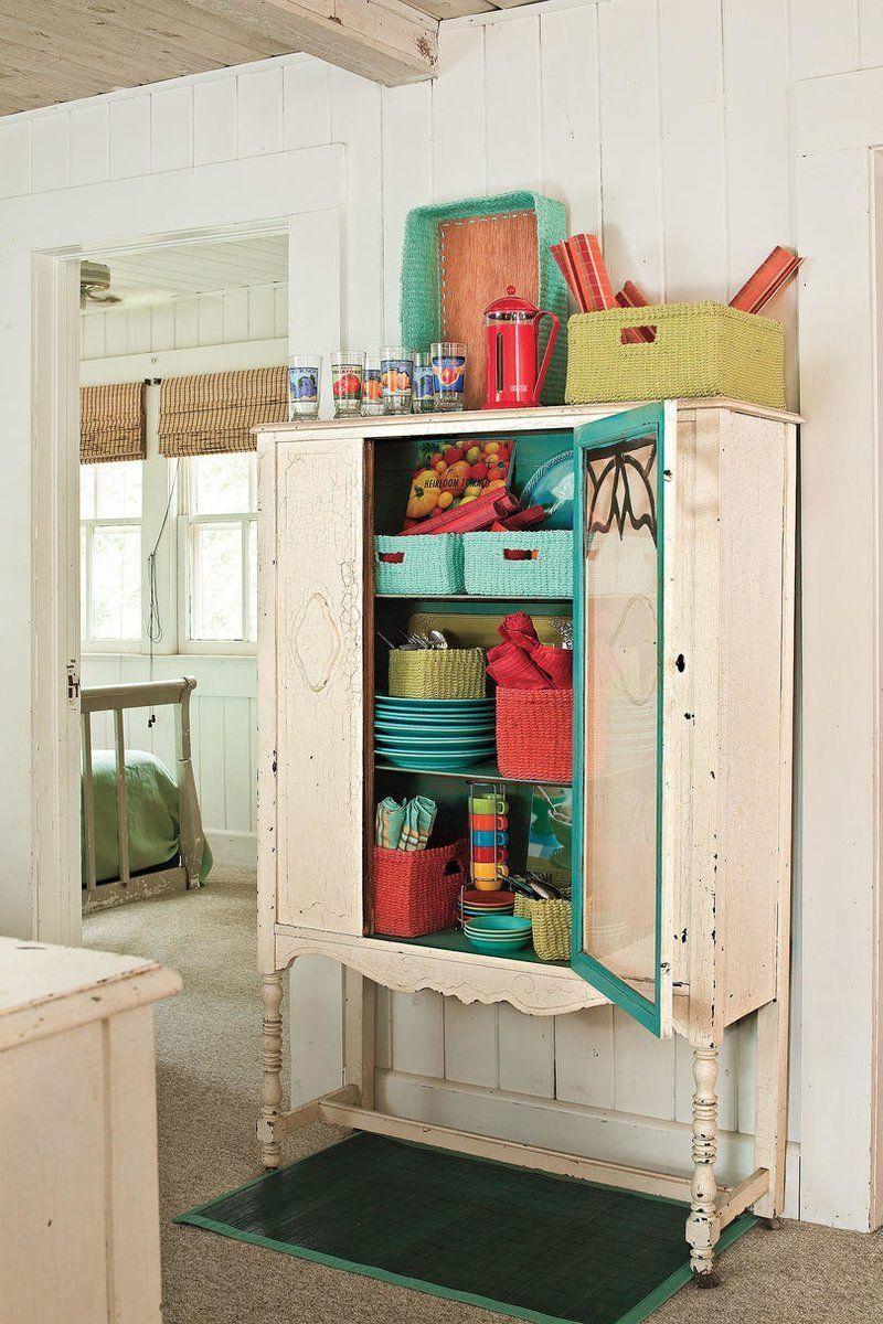 Organize Your Kitchen Vintage Storage Vintage Cabinets Home