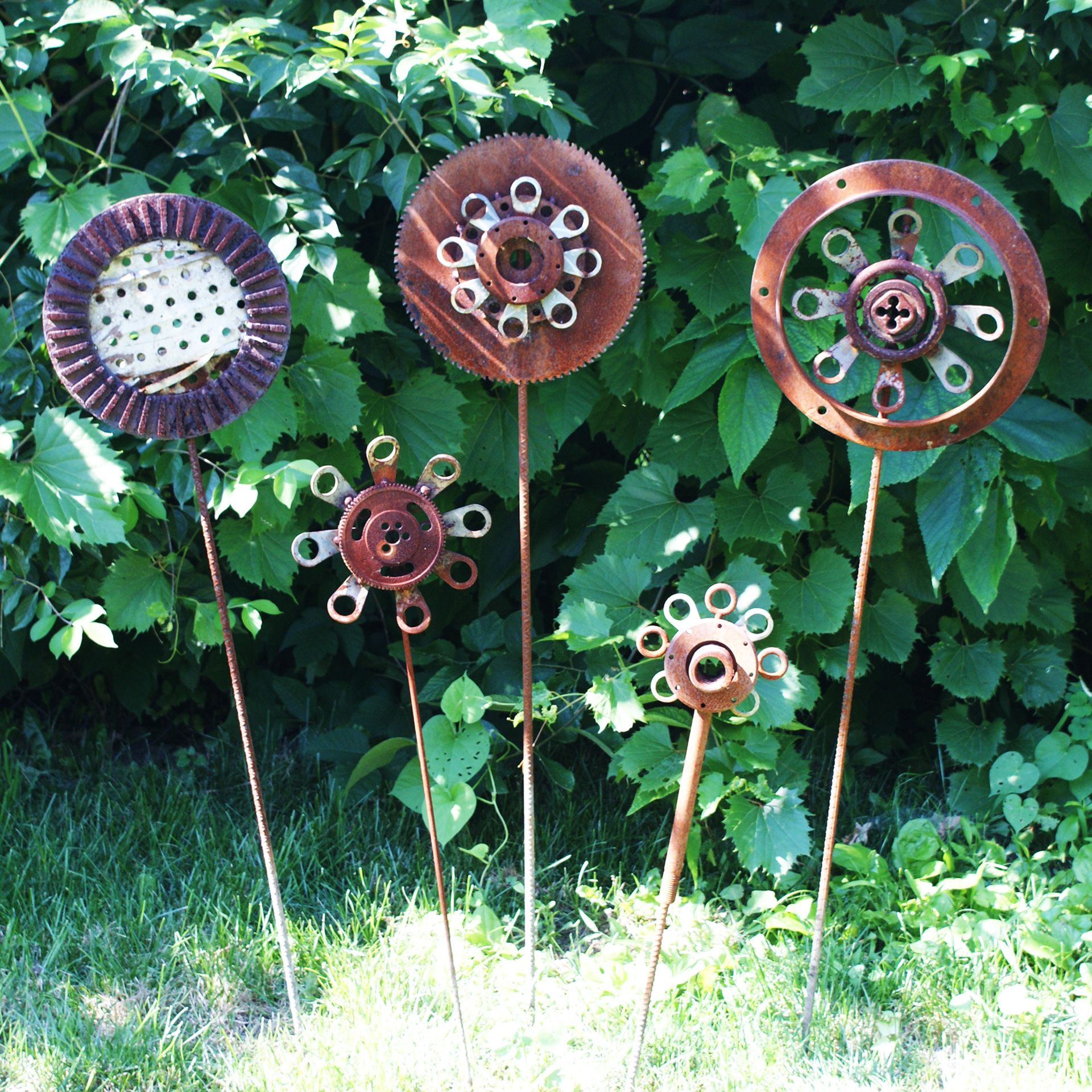 Metal Garden Art, Metal Yard