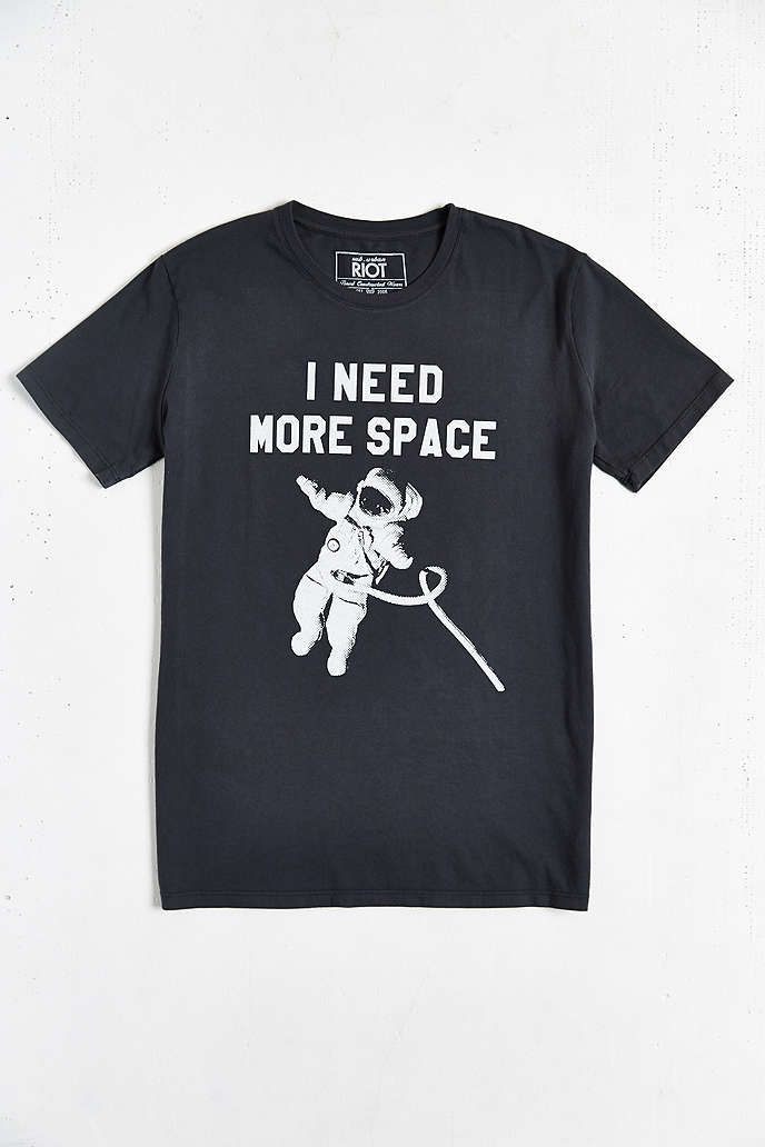 fa03d3a697 Sub Urban Riot I Need More Space Tee | Anything But Plain & White ...