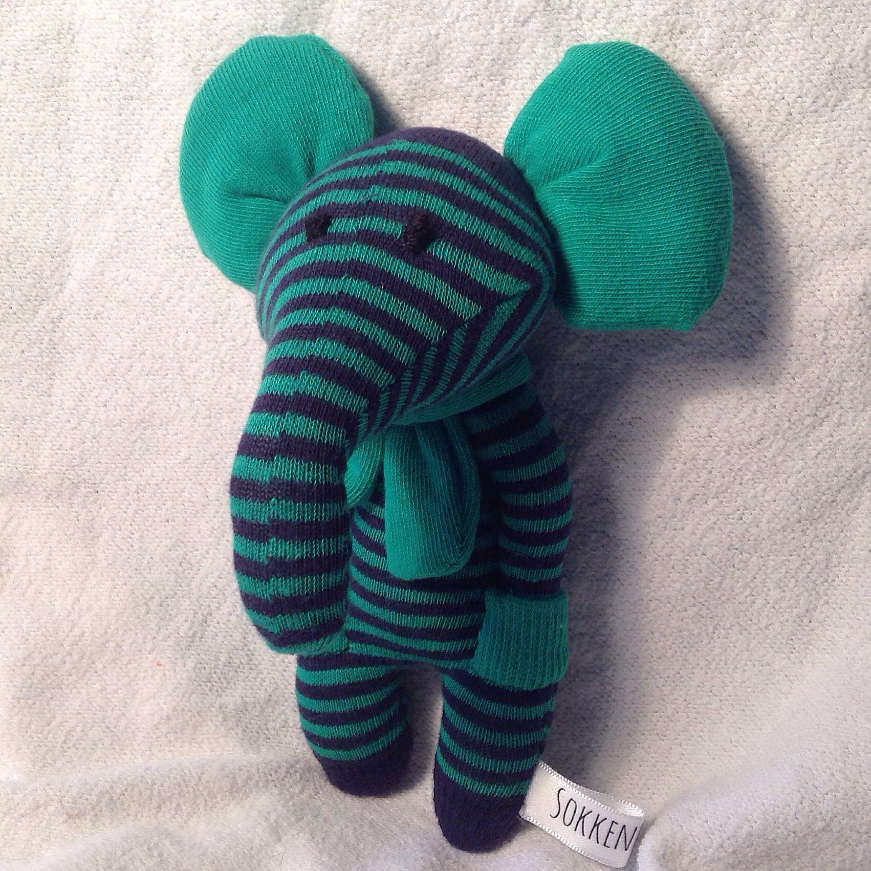 Célèbre Sock elephant | couture | Pinterest | Chaussettes, Doudous et  JX07