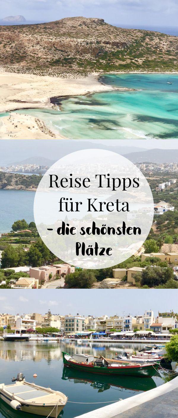 Kreta Urlaub - 6 Orte, die du dort auf jeden Fall besuchen solltest #visitgreece