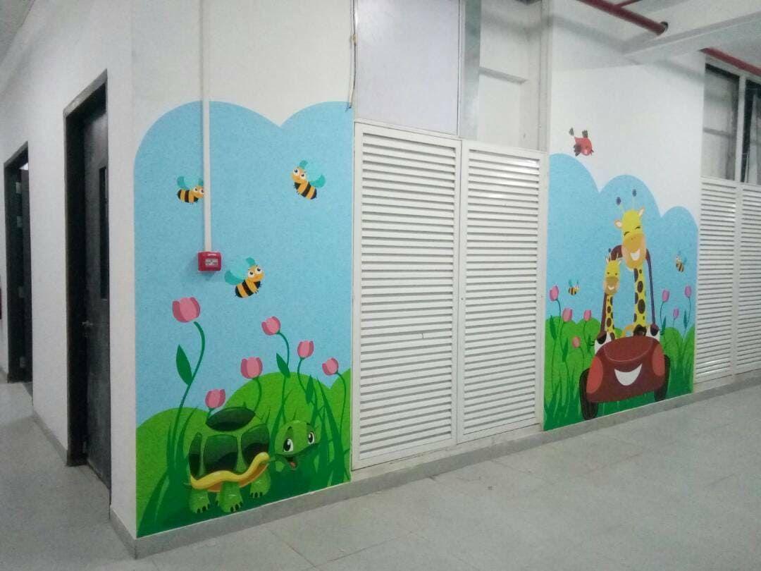 School Graphics Internal Branding Wall Graphics Graphic Create Graphics