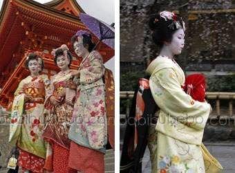 Geisha et maiko, Kyoto