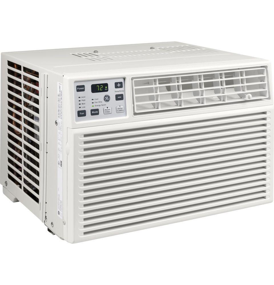 General Electric 5 000 Btu Window Air Conditioner With Remote 115v Ge Aez05lv Ge Window Air Conditioner Appliances Design Air Conditioner