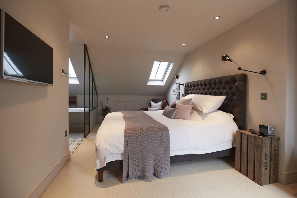 loft conversion bedroom  Google Search  Home inspo