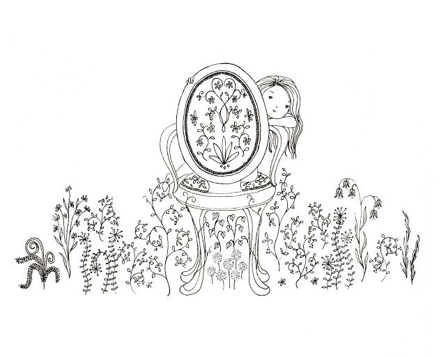 Illustration Friday: Monster   Bella Sinclair Doodlespsot Drawings ...