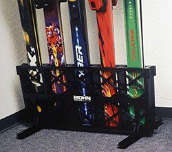 Freestanding Ski And Snowboard Storage Racks
