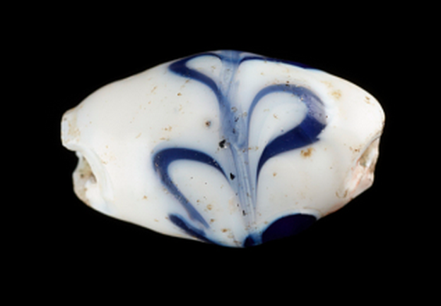 Italian Glass Bead, ca. 19th century, made in Venice, Italy, Gift of Charles Lang Freer, Accession Number: F1909.801, Freer Gallery of Art and Arthur M. Sackler Gallery, Smithsonian, Washington, DC. http://www.asia.si.edu/collections/edan/object.cfm?q=fsg_F1909.801