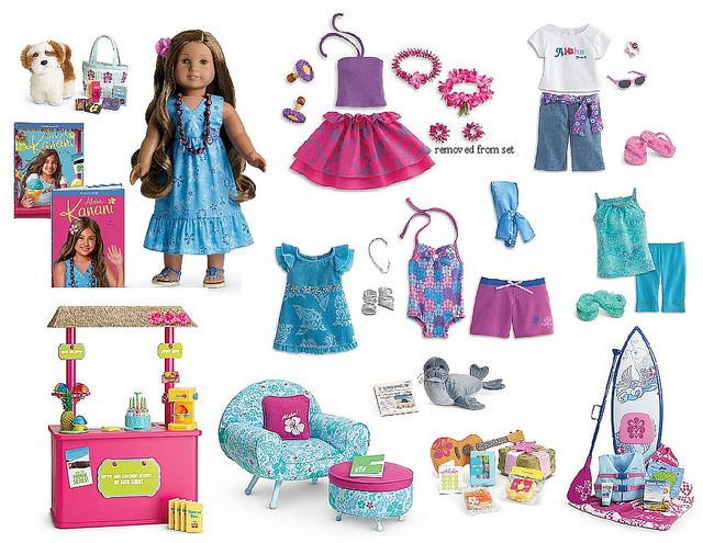 GOTY collection boards… added Lea | American Girl Playthings ...
