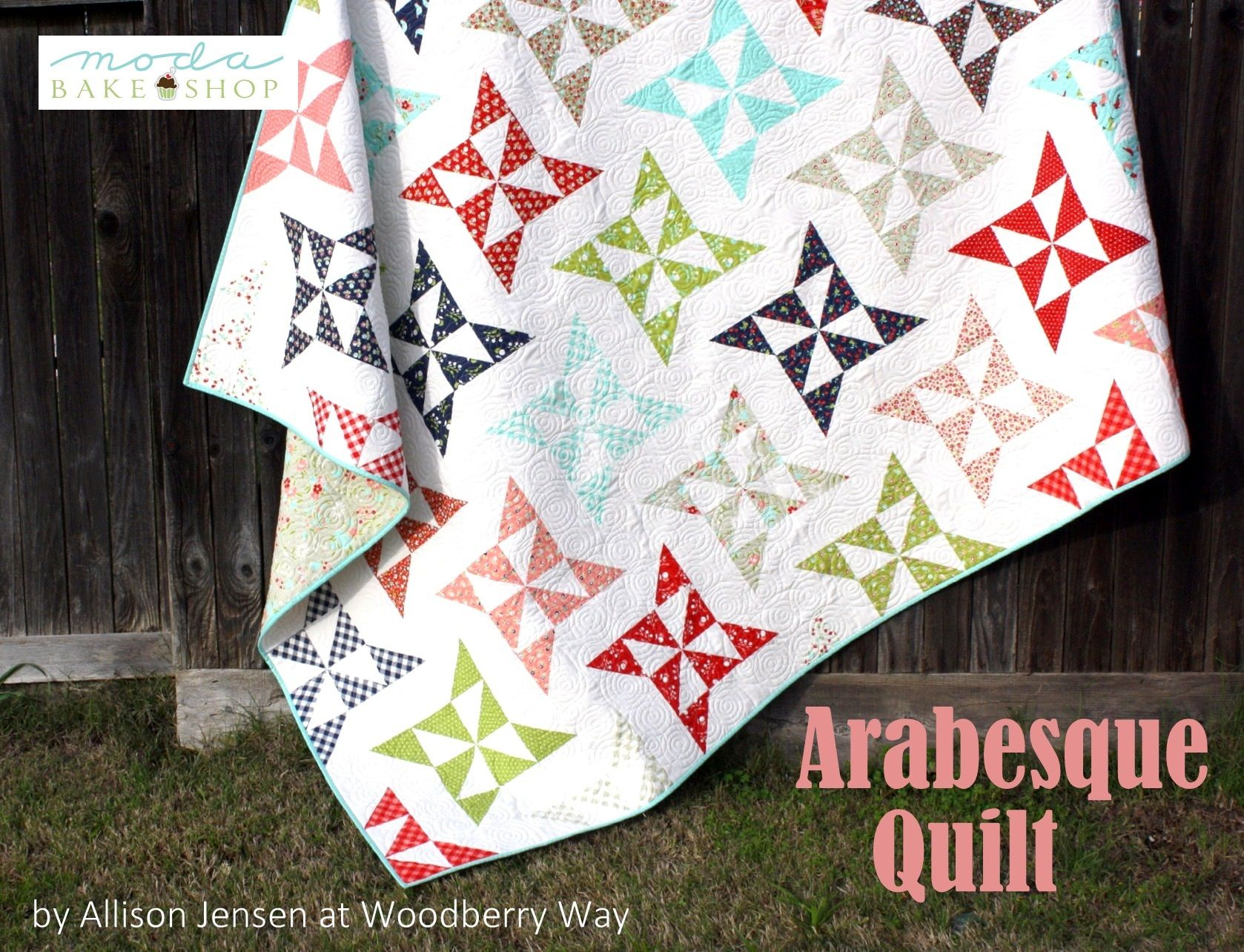Arabesque Quilt (Moda Bake Shop) | Moda, Layer cake patterns and ... : quilt shop names - Adamdwight.com